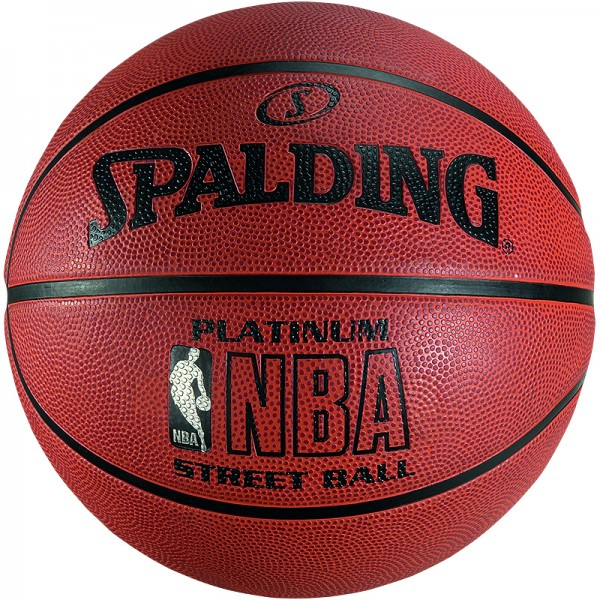 Spalding Basketball NBA Platinum Streetball