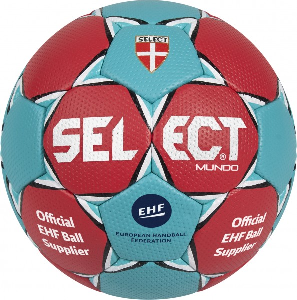 SELECT Handball Mundo rot-türkis