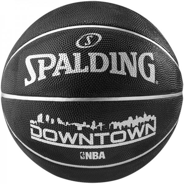 Spalding Basketball NBA Downtown schwarz-silber