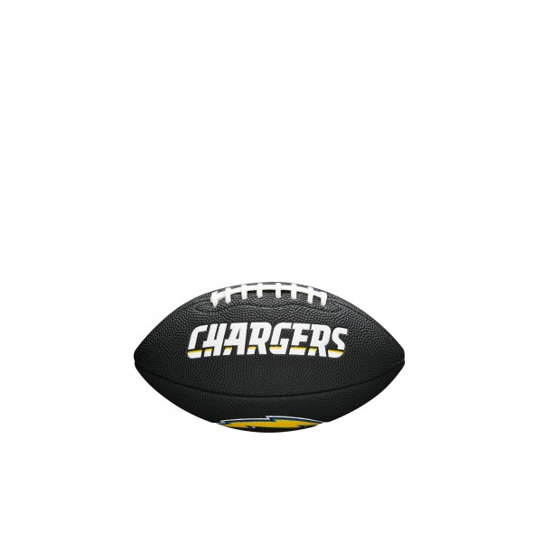 Wilson Football NFL Team Logo Mini Los Angeles Chargers WTF1533BLXBLAC