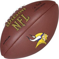 Wilson Football NFL Team Logo Minnesota Vikings WTF1748MN