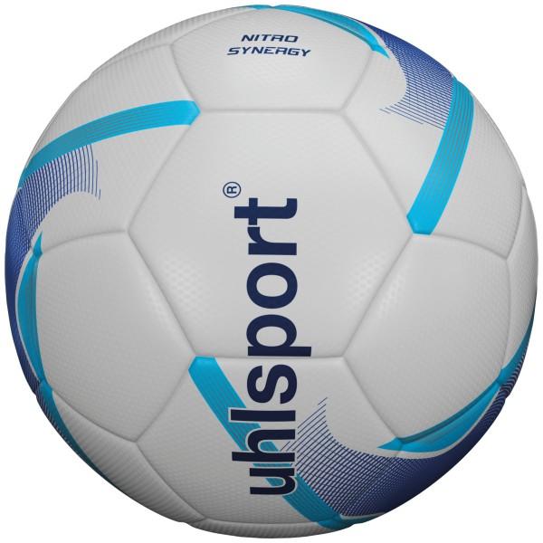 Uhlsport Fußball Nitro Synergy weiß/blau/cyan