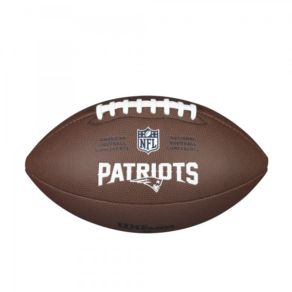 Wilson Football NFL Team Logo Patriots WTF1748NE