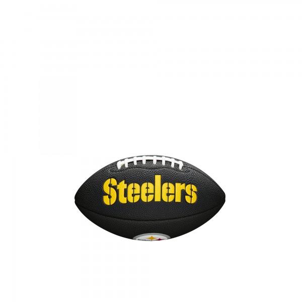 Wilson Football NFL Team Logo Mini Pittsburgh Steelers WTF1533BLXBPT