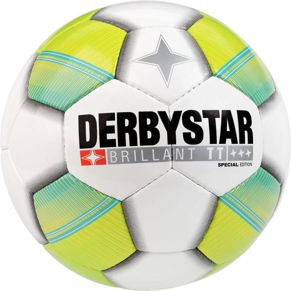 Derbystar Brillant TT Special Edition weiß/grün/türkis Gr. 5