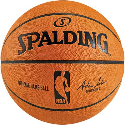 Spalding Basketball NBA Gameball echtes Leder