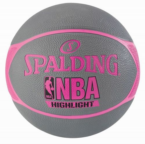 Spalding Basketball NBA Highlight 4her grau/pink