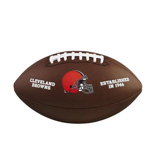 Wilson Football NFL Team Logo Cleveland Browns WTF1748CL