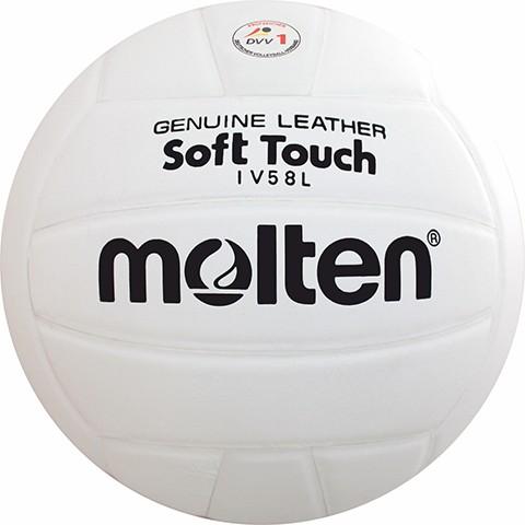 Molten Hallenvolleyball IV58L Soft Touch