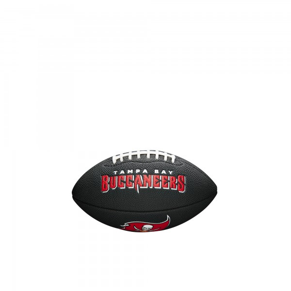 Wilson Football NFL Team Logo Mini Tampa Bay Buccaneers WTF1533BLXBTB