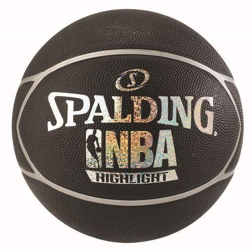 Spalding Basketball NBA Highlight silber/schwarz