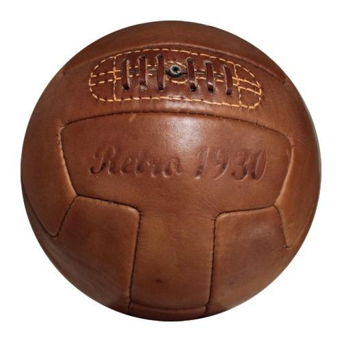 Fußball Retro 1930, Echtlederball, Retrofußball