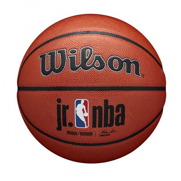 Wilson Basketball Junior NBA Authentic Silver Indoor/Outdoor