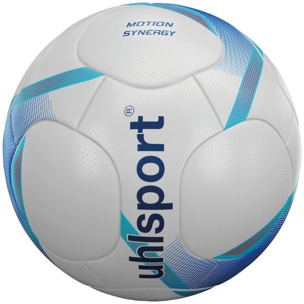 Uhlsport Fußball Motion Synergy weiß/deep blau/cyan