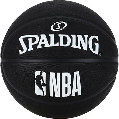Spalding NBA Basketball schwarz