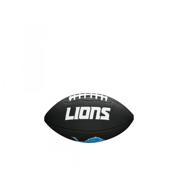 Wilson Football NFL Team Logo Mini Detroit Lions WTF1533BLXBDT