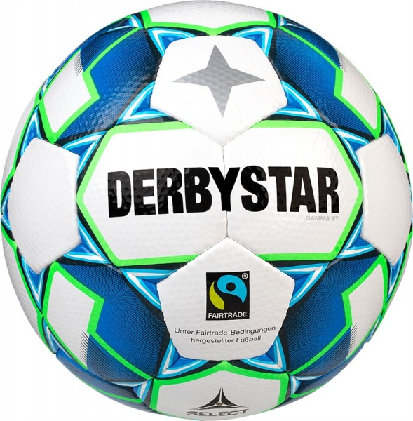 Derbystar Fußball Gamma TT Trainingsball Fairtrade
