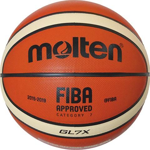 Molten Basketball BGL7X echtes Leder