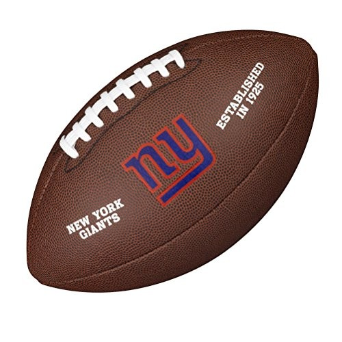 Wilson Football NFL Team Logo New York Giants WTF1748NG