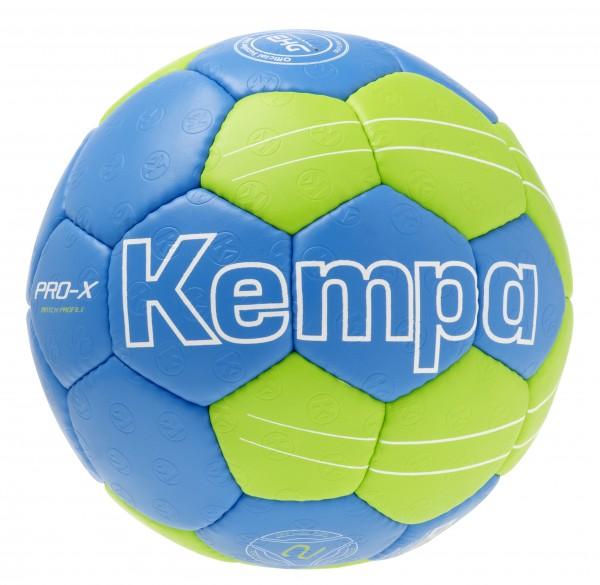 Kempa Handball Pro-X Match Profile kempablau/fluo grün Gr 2 (Retouren-Schnäppchen)