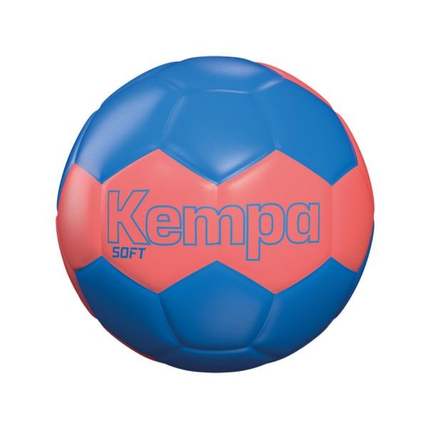 Kempa Handball Soft Einheitsgrösse fluo rot/kempablau