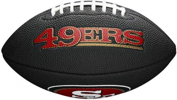 Wilson Football NFL Team Logo Mini San Francisco 49ers WTF1533BLXBSF