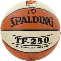 Spalding Basketball DBB TF 250 orange/weiß