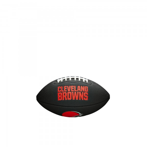 Wilson Football NFL Team Logo Mini Cleveland Browns WTF1533BLXBCL