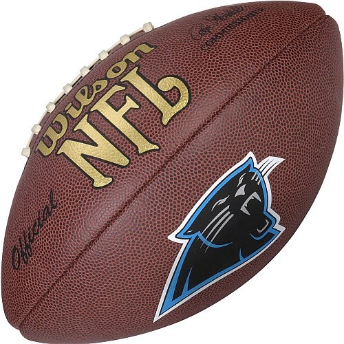 Wilson Football NFL Team Logo Carolina Panthers WTF1748CA
