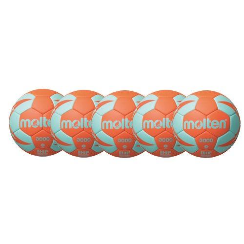 Molten Handball H3X3000 / H2X3000 / H1X3000 / H0X3000 -OC Ballpaket (5 Bälle)