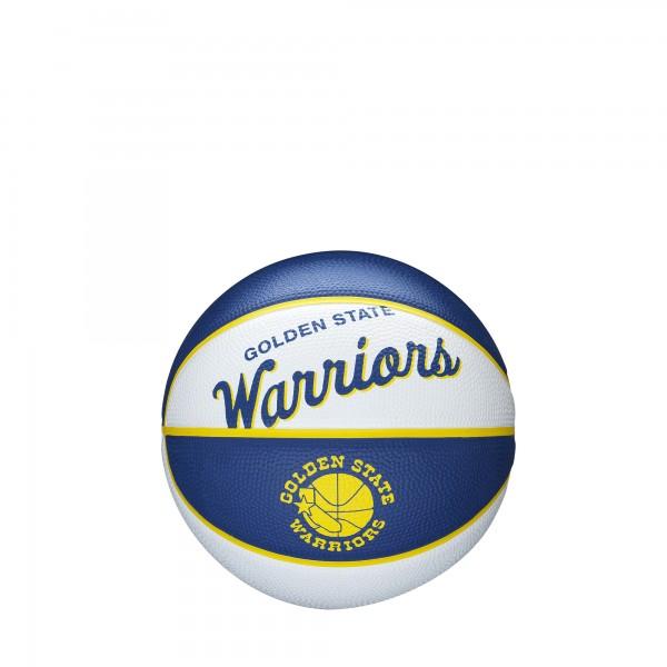 Wilson Basketball NBA Team Retro Silver Mini