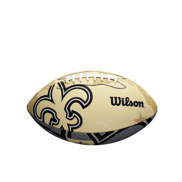 Wilson Football NFL JR New Orleans Saints WTF1534XBNO