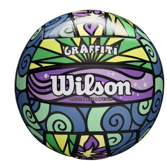 Wilson Volleyball Graffiti Outdoor