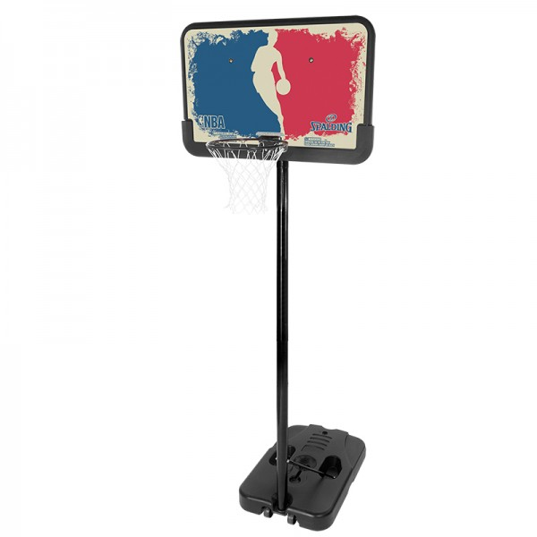 Spalding Basketballkorbanlage NBA Logoman (portable) blue/red
