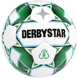 Derbystar Fußball Planet APS Wettspiel- und Trainingsball 10er Ballpaket inkl. Ballnetz