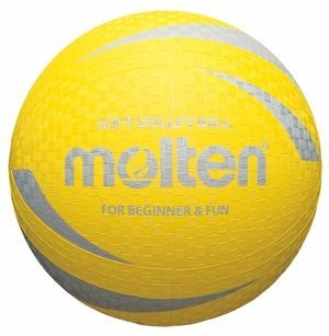 Molten Softball aus weichem Gummi 10er Ballpaket inkl Ballnetz
