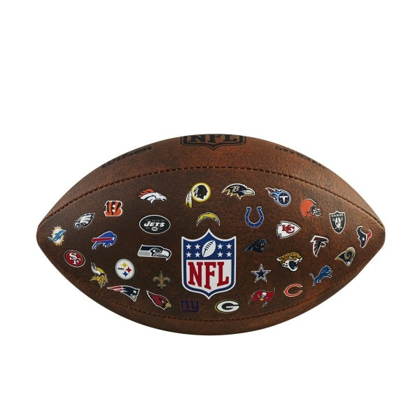 Wilson Football NFL 32 Throwback Team Logo