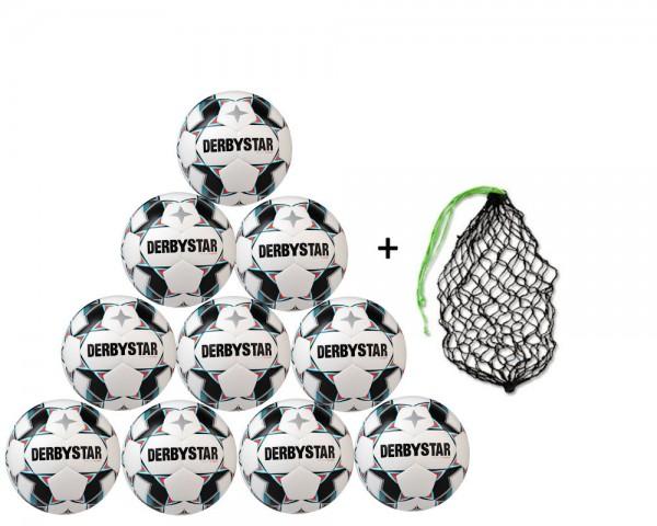 Derbystar Fußball Brillant S-Light DB Top-Jugend Trainingsball