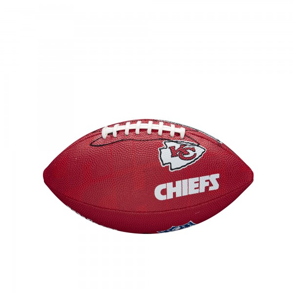 Wilson Football NFL JR Kansas City Chiefs WTF1534XBKC
