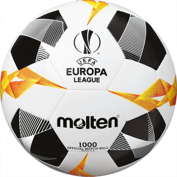 Molten Fußball Replica UEL 2019 Weiß/Orange/Schwarz Gr.5