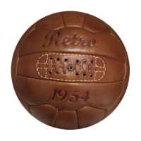 Fußball Retro 1954, Echtlederball, Retrofußball