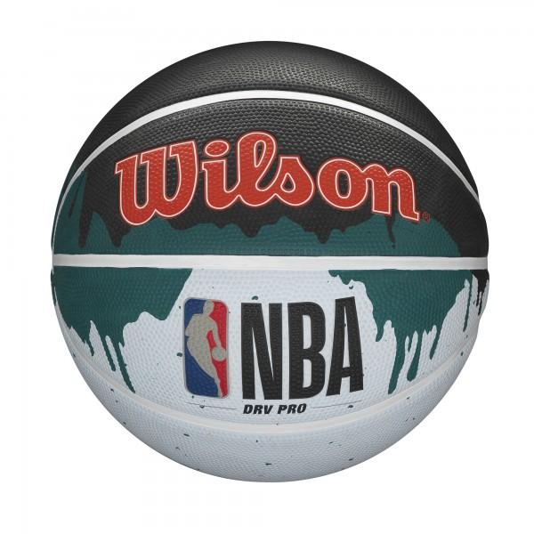 Wilson Basketball NBA DRV Pro Drip Gold Gr. 7 royal