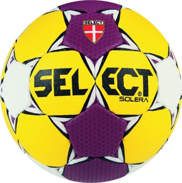Select Handball Solera blau/gelb/weiß und gelb/lila/weiß