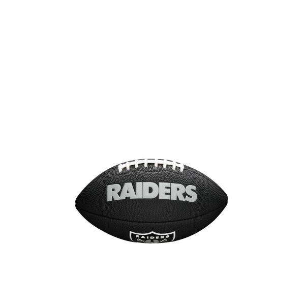 Wilson Football NFL Team Logo Mini Oakland Raiders WTF1533BLXBOA