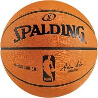 Spalding Basketball NBA Gameball echtes Leder