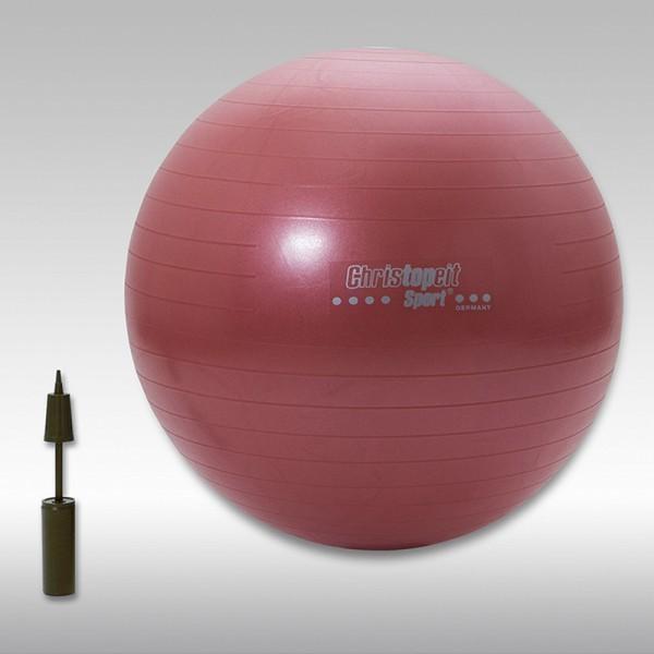 Christopeit Gymnastikball inkl. Pumpe