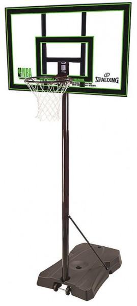 Spalding Basketballkorb NBA Highlight Acrylic Portable schwarz/grün