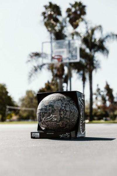 Spalding Basketball Kobe Snake Silver 24