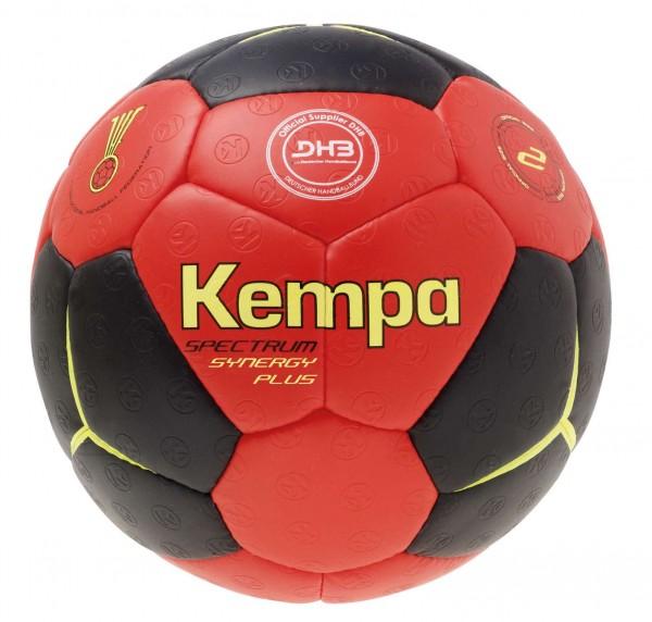 Kempa Handball Spectrum Synergy Plus schwarz rot/limonengelb