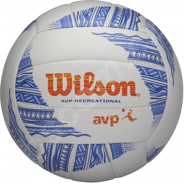 Wilson Beachvolleyball weiß/blau/orange